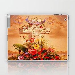 Faith Hope Charity - Christian Cross Laptop & iPad Skin