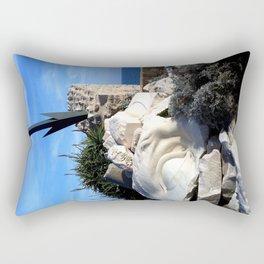 Picasso Museum Arrow - Antibes Rectangular Pillow