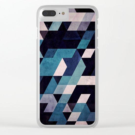 blux redux Clear iPhone Case
