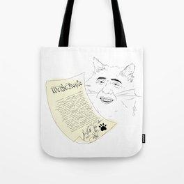 declaration  Tote Bag