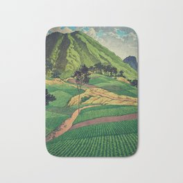 Crossing people's land in Iksey Bath Mat