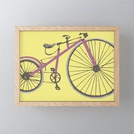penny farthing bike Framed Mini Art Print