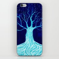 frozen iPhone & iPod Skins featuring Frozen by Nancy Woland