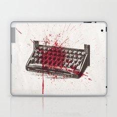 Misery - minimal, movie poster, Rob Reiner, Kathy Bates, Lauren Bacall, Stephen King Thriller Laptop & iPad Skin