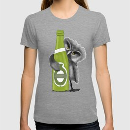 owl with Beer T-shirt