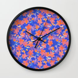 Japanese Garden: Blossoms LT Wall Clock