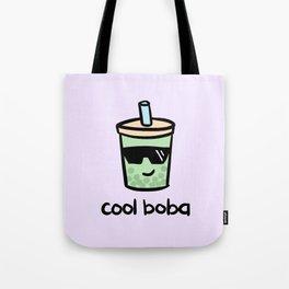 Cool Boba Tote Bag