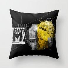 Blondit Throw Pillow