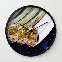 Cutaway View, Bernal Sphere Agriculture Wall Clock