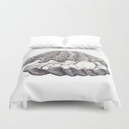 Sleeping baby Duvet Cover