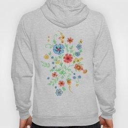 Folk Floral Burst Hoody