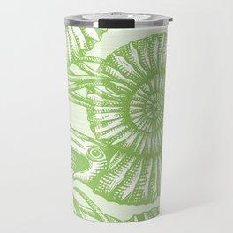 AMMONITE COLLECTION GREEN Travel Mug