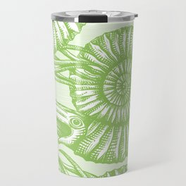 AMMONITE COLLECTION GREEN Travel Mug