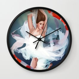 Pisces: The Zodiac Signs Wall Clock