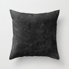 Bandaged in Black Throw Pillow