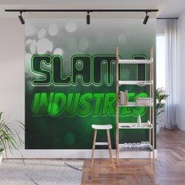 Slam 1 Industries Green Eater Wall Mural