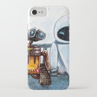 wall e iPhone & iPod Cases featuring Wall-E by Agui-chan