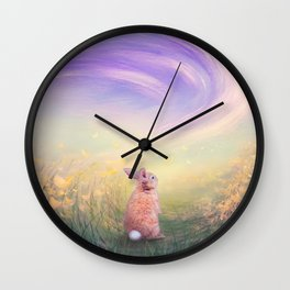 Spring Flurry  Wall Clock