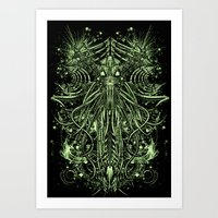 THE CREATURE Art Print