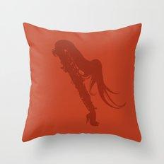 Sexyphone Throw Pillow