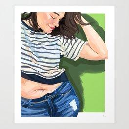 Jennie Rockin Art Print