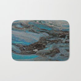 Marble, it is cool, aloof and especially elegant Bath Mat