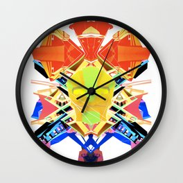 Gods of the Next World Wall Clock