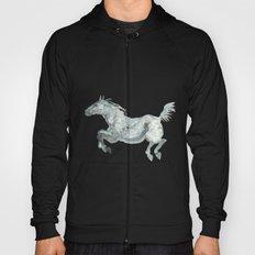 Blue Horse Hoody