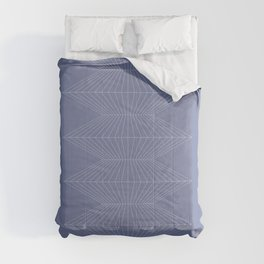 Abstract Geometric Lines VIII Comforters