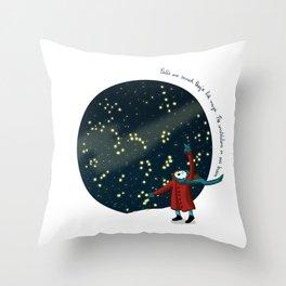 Constelations Throw Pillow