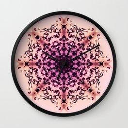 Mandala Lotus - Morning Wall Clock