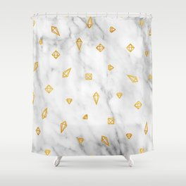 Dignified Opulence Shower Curtain