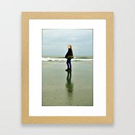 Keep On Walking Framed Art Print