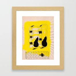 EYEZ I Framed Art Print