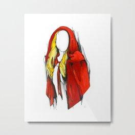 Valerie Metal Print