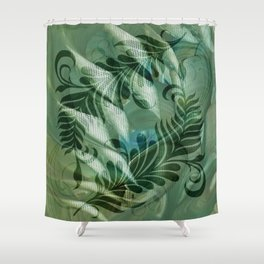 Dancing Thoughts series Shower Curtain