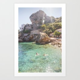Tonnara Scopello Art Print