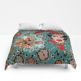 Art Deco Roaring Twenties Flapper Fantasy Comforters