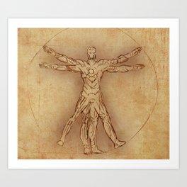 Iruvian Man Art Print