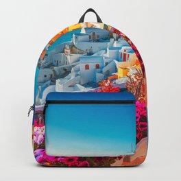 Santorini Landscape Photography Backpack