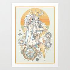 fools gold Art Print