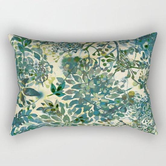 spring time emerald green Rectangular Pillow