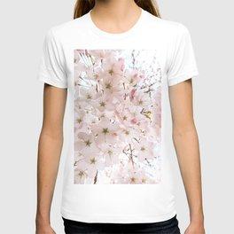 Botanical Spring Cherry Blossoms T-shirt
