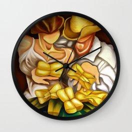 Cuban Tamales Wall Clock