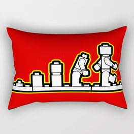 Lego Evolution  Rectangular Pillow