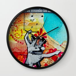 Musc in All of Us Wall Clock