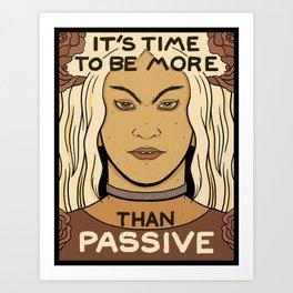 Trans Resistance Art Print