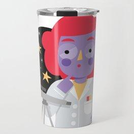 Vera the Scientist Travel Mug