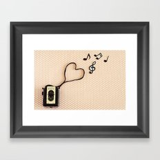 Photography makes my heart sing Framed Art Print