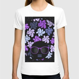 Afro Diva Purple T-shirt
